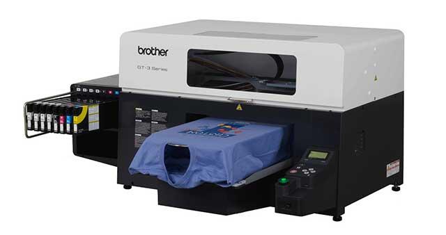 Textildruck Direktdruck mit der Brother GT-3 in Mönchengladbach